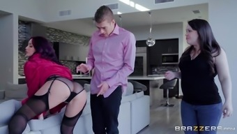 Monique Alexander has the capability f fucking her best friend's hubby with her bed
