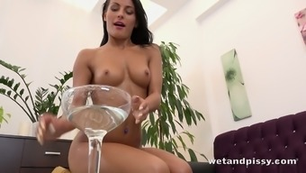 Sizzling female Lexi Dona loves swim with her own wee for your viewing pleasure