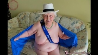 OmaGeiL Granny Pictures Selection By using Boobs