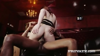 Professional bitch Lucia Completely love gives her head before a steamy interracial sex