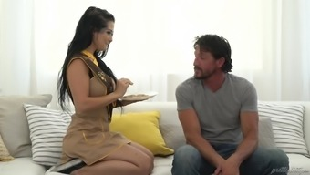 Tattooed original honey Katrina Lime is a good thing at riding a penile