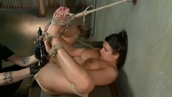 plump object whore penny barber cums complicated on master's very fist