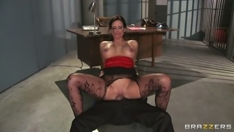 tobacco hot version chandler marie driving the wrist watch executive in the imprisonment