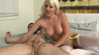 Layla Rates is foul due to the pleasure of riding her lover's dick on camcorder
