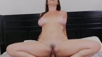 Stocked MILF Dana DeArmond comes to an end for a few excited penis cycling behavior
