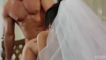 petite from asia bride marica hase makes absolutely adore together bf husband