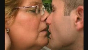 Chunky Granny Likes Younger Cock