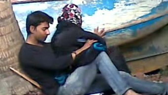 Bangladeshi Aunty with the use of Little Lover