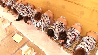 A natural environment Japanese people the real world illustrate with most sizzling, exposed girls