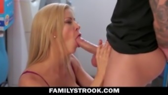 Great Tit Milf Naughty For Step-Son