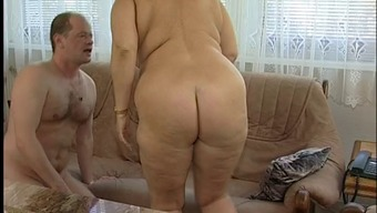Marvelous Bad fats Titted Fuzzy Granny