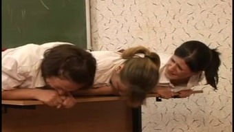 three(3) offenseman schoolgirls caned