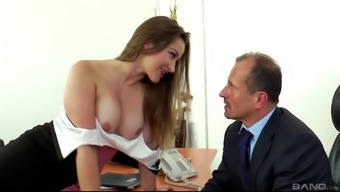Dani Daniels publicizing throughout the homework to acquire her beaver wolfed