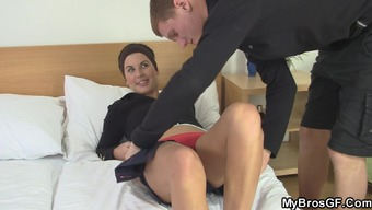 His special wife drains and amusement rides another joystick!