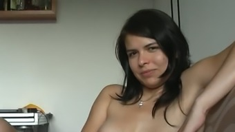 Zuzinka and her partner masturbating