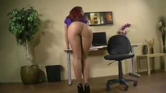 Hot stupid ass in pantyhose