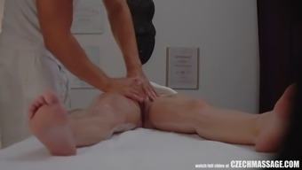 big tits spiteful lady persuaded her masseur to really hard intercourse