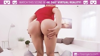 VR PORN-Busty Aletta Atlantic Get Banged And Titty Fuck By using a