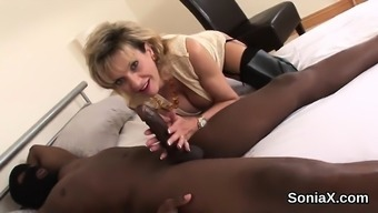 Betrayal british milf girl sonia shows her large hooters4