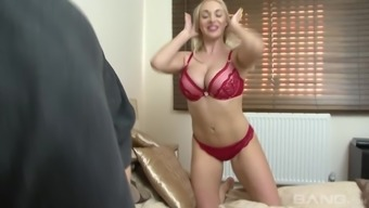 Victoria Summer time puts on warm intimate apparel who needs to fuck complicated