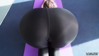 Large Round Booty Jada Stevens Normally takes Great Cock After Qi gong
