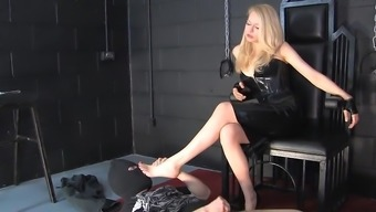 Blond Latex Female friend Your clients looking at you Elevate 02