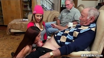 Miniscule Young adult Gigi Flamez and Incursion Squirt Completely love Old Males