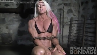 a woman weight lifters muscle groups difficulty against sequences