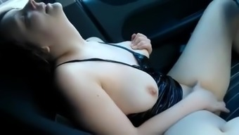 rubbing in car