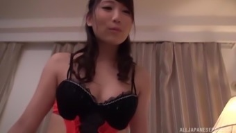 Kurata Mao appreciates it anytime kinky close friend burst her in POV
