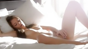 By far the most sensual vaginal area genital masturbation