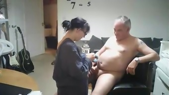 Finnish homemade video of a new grow older mother fucking mister