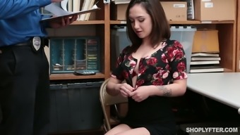 Liable nympho Lily Jordan gets fucked christian missionary and puppy by grimy the police officer
