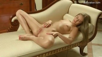 lovely new tiffany tatum fondles her happy by yourself