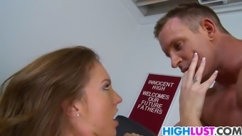 attractive schoolgirl maddy oreilly gets engaged