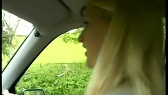 Pissing from car