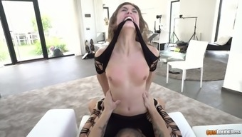 Vulgar The spanish language slut Julia Roca gives a rimjob and gets her pussy and face fucked