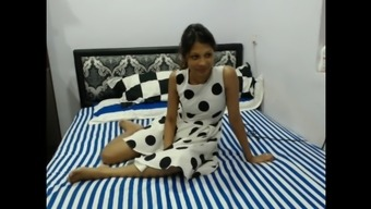 Naughty Nice indian lady by using two all men