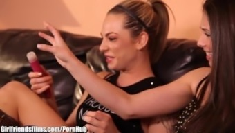 GirlfriendsFilms Casey Calvert Shears with the use of Brown