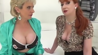 JOI with mature babes Lady Sonia and Red XXX
