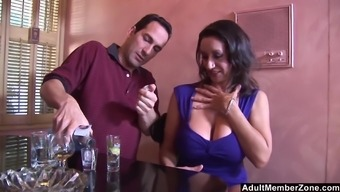 Busty brunette Persia Monir is the real master of memorable sex