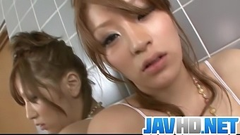 Horny babe finger fucking in sweet Asian solo - More at JavHD.net