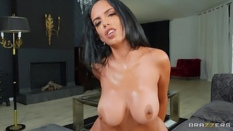 Passionate lovemaking in POV ends with a facial for Katrina Moreno