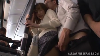 Kinky partners might not leave for sexual intercourse, they generally do it right their within the general public train
