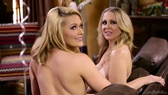 Johnny Chateau fucks Abby Go over and her unclean lesbian girl friend