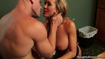 great tits chief brandi love delivers an incredible blowjob