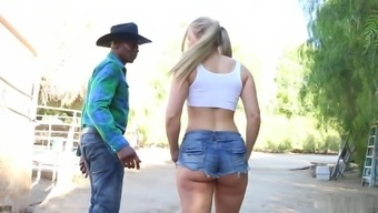 Sit back and watch how gorgeous blond got profound fuck by optimal partner. The woman really adores it.