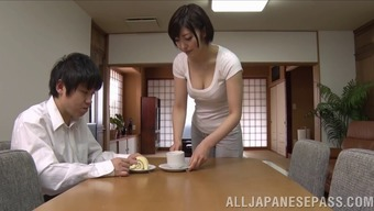 attractive japanese people wifey savours extreme pussy thrashing behavior
