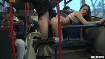 Tough intercourse within the community shuttle regarding the perverted Bonnie