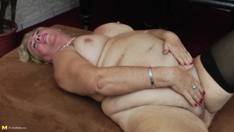 Luscious and chunky granny likes having a number of kinky alone valuable time